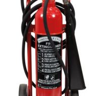 10kg CO2 Wheeled Extinguisher – MED Approved