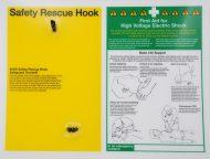 Safety Rescue Hook Station 60kV
