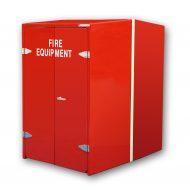 JB68 Wheeled Fire Extinguisher Cabinet