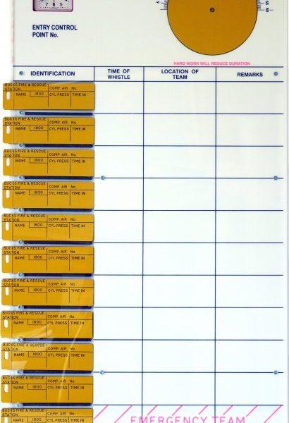 12 Tally BA Control Board c/w Clock and Calculator
