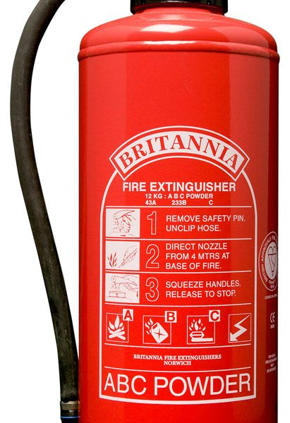 12kg Powder Fire Extinguisher, Cartridge Operated