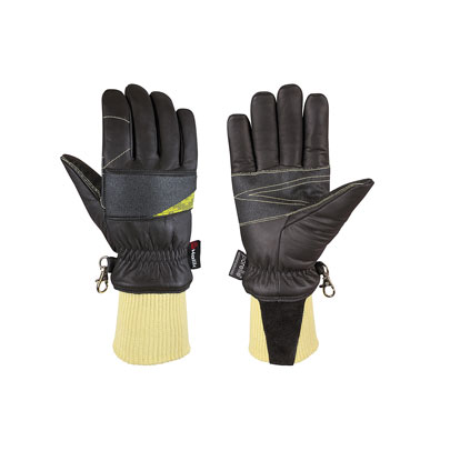 Leather Fire Fighters Glove - MED Approved